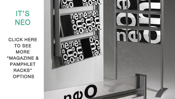 Neo Magazine & Pamphlet Racks