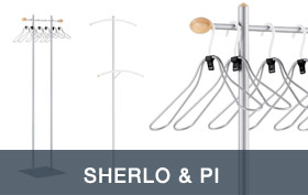 Sherlo & PI Coat Racks